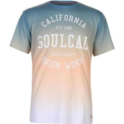 SoulCal Sublime T-shirt Orange/Green (59909015)