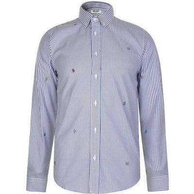 Kenzo Striped Shirt Perriwinkle (F855CH4001LG.72)