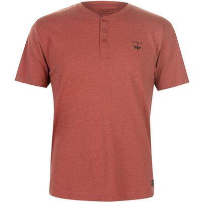 Firetrap Orbit T-shirt Red Orchre Marl (59080908)