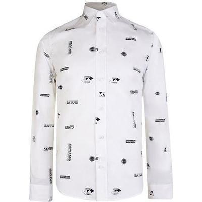 Kenzo Hyper Shirt White (F855CH4011LO.01)