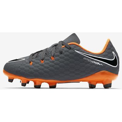 Nike Hypervenom Phantom III Academy FG Dark Grey/White/Total Orange (AH7288-081)