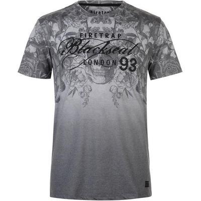 Firetrap Cascade T-shirt Grey (59093602)