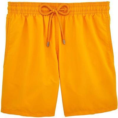 Vilebrequin Moorea Solid Swim Shorts Turmeric (WB-MOOP701P-HOM-132)