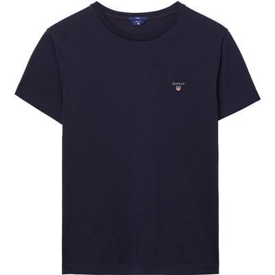 Gant Solid T-shirt Evening Blue (234100)