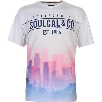 SoulCal Sublime T-shirt Blue/Pink (59909090)