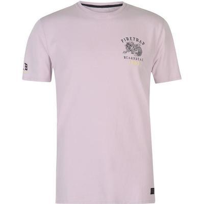 Firetrap Dragon T-shirt Pink (59095206)
