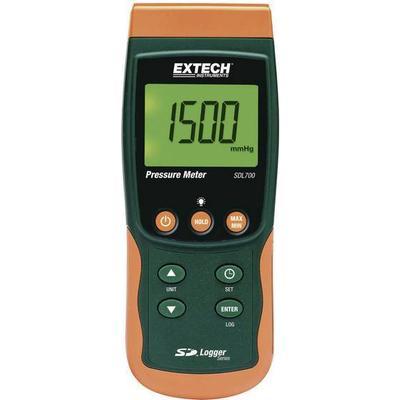 Extech Trykmålingsudstyr Extech SDL700 Gasser, Væske 0.002 - 20 bar