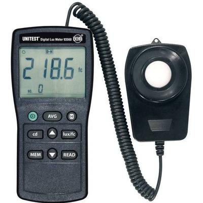 Beha Amprobe FT600093560D Luxmeter 0 - 200000 lx Kalibrering efter Fabriksstandard