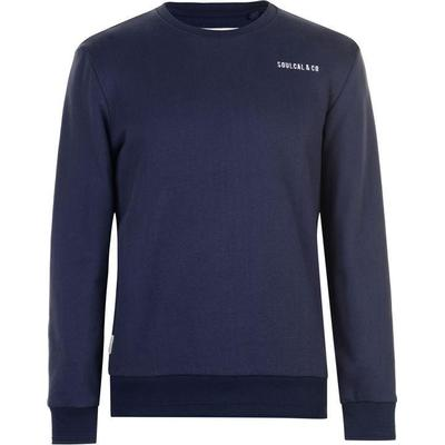 SoulCal Crew Sweater Navy (52002522)