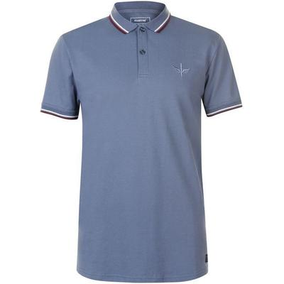 Firetrap Lazer Slim Fit Polo Shirt China Blue (54801480)