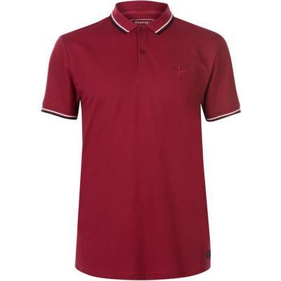 Firetrap Lazer Slim Fit Polo Shirt Rumba Red (54801483)