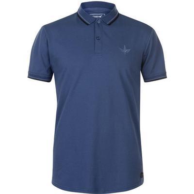 Firetrap Lazer Slim Fit Polo Shirt Ensign Blue (54801479)
