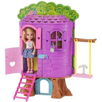 Mattel Barbie Club Chelsea Treehouse