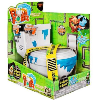 Spin Master Flush Force Series 1 Collect a Bowl Stash 'N' Store Case