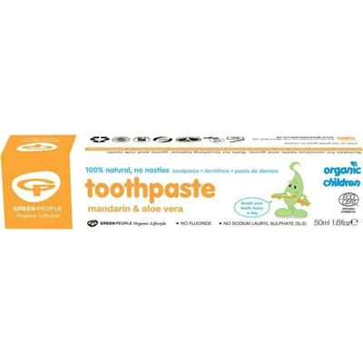 Green People Children's Mandarin Toothpaste 50ml