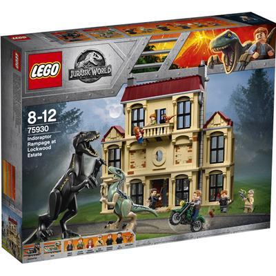 Lego Jurassic World Indoraptor Rampage at Lockwood Estate 75930
