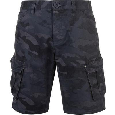 Firetrap Below the Knee Shorts Navy Camo (47815322)