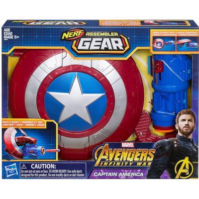 Nerf Marvel Avengers Infinity War Captain America Assembler Gear