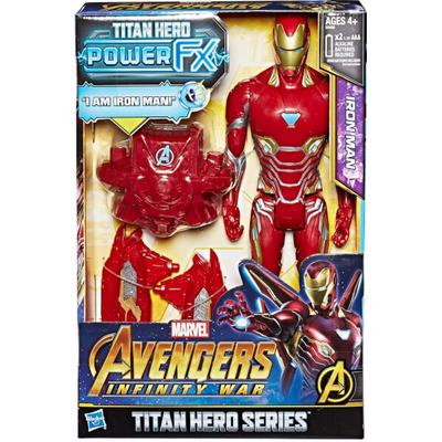 Hasbro Marvel Avengers Infinity War Titan Hero Power FX Iron Man E0606