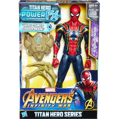 Hasbro Marvel Avengers Infinity War Titan Hero Power FX Iron Spider E0608