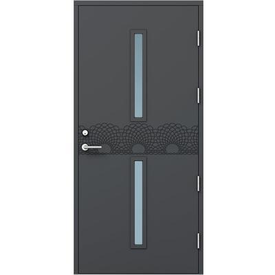 Kaski Design Sao Paulo Ytterdörr Klarglas S 0502-Y H (100x200cm)