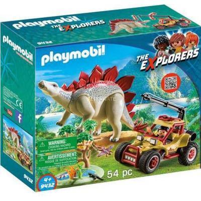 Playmobil Explorer Vehicle with Stegosaurus 9432