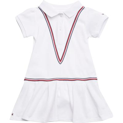 Tommy Hilfiger Polo Baby Dress Bright White Kn0kn00789 Hitta