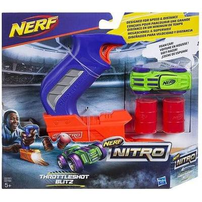 Nerf Nitro Throttle Shot Blitz Blue Blaster