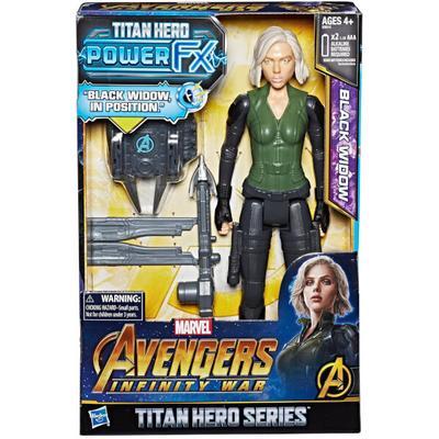 Hasbro Marvel Avengers Infinity War Titan Hero Power FX Black Widow E0614