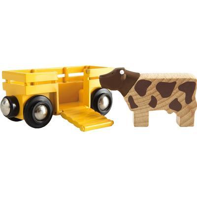 Brio Cow & Wagon 33406