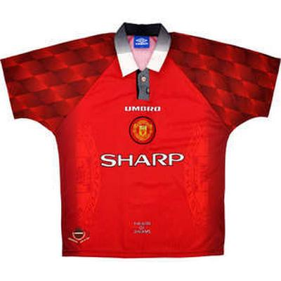Umbro Manchester United Home Jersey 96-98 Sr