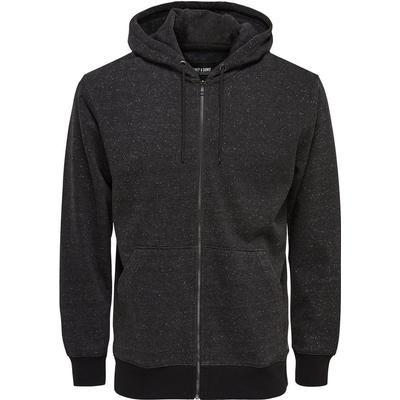 Only & Sons Sweat Hoodie Jacket Grey/Dark Grey Melange (22004472)