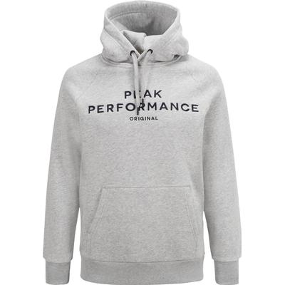 Peak Performance Logo Hood MED Grey Mel/M03 (G54514150Z)