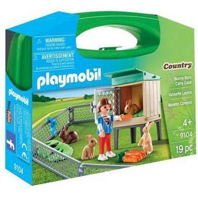 Playmobil Bunny Barn Carry Case 9104