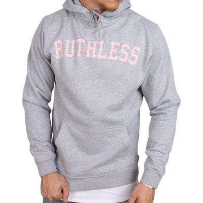 Mister Tee Ruthless Hoodie Grey (MT320HEAGRY)