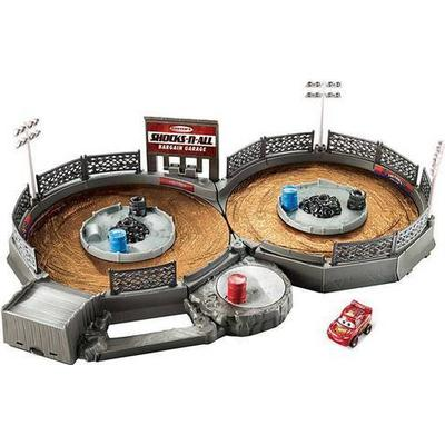 Mattel Disney Pixar Cars Mini Racers Crank & Crash Derby Playset