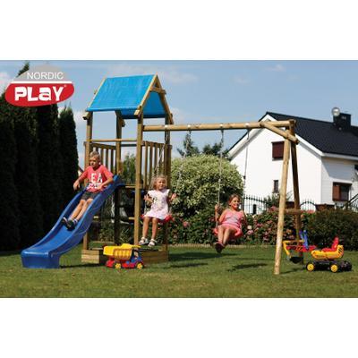 Nordic Play Noah Legetårn med Gyngemodul og Gynger