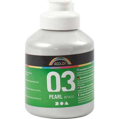 A Color Acrylic Paint Pearl Metallic 03 Silver 500ml