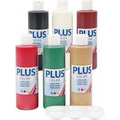 Plus Craft Paint Christmas 6x250ml