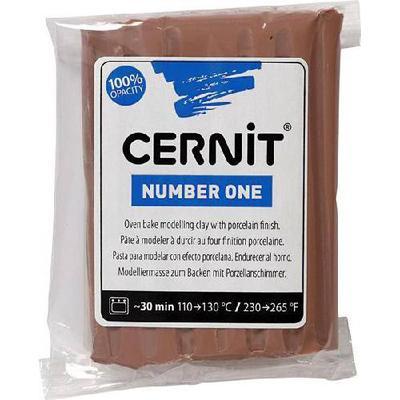 Cernit Number One Brown 56g