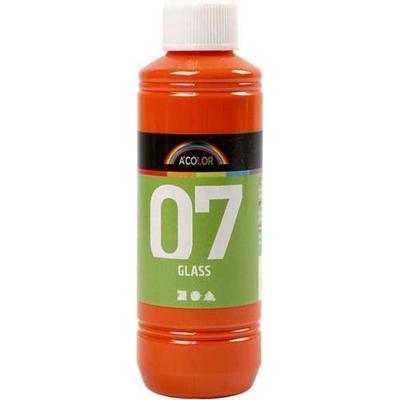 A Color Glass Paint Orange 250ml