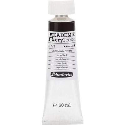 Schmincke Akademie Acryclic Color Black 60ml
