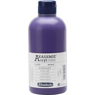 Schmincke Akademie Acryclic Color Brilliant Violet 500ml