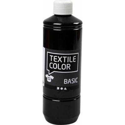 Textile Color Paint Basic Black 500ml