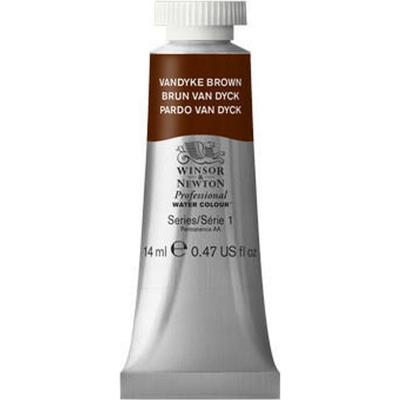 Winsor & Newton Professional Water Colour Vandyke Brown 14ml