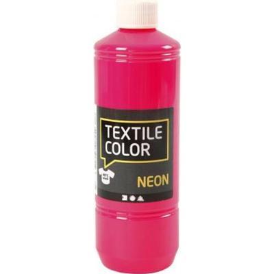 Textile Color Paint Neon Pink 500ml