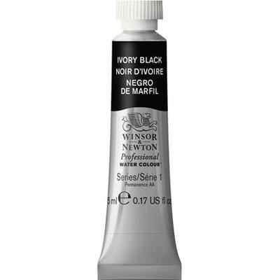 Winsor & Newton Professional Water Colour Ivory Black 5ml