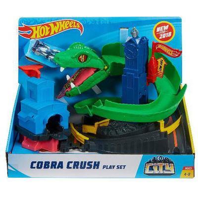 Mattel Hot Wheels City Cobra Crush Play Set