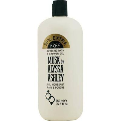 Alyssa Ashley Musk Bubble Bath 750ml