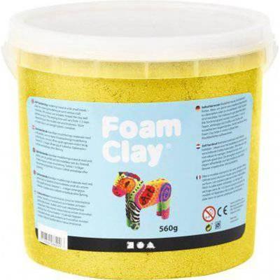Foam Clay Metallic Clay Yellow 560g
